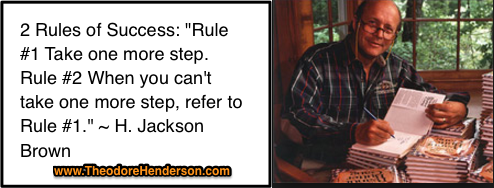 2 Rules of Success By H Jackson Brown